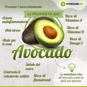 Proprietà-Avocado